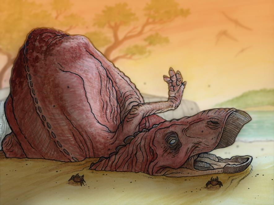 Dinosaur Mummies Rickspearsart Com